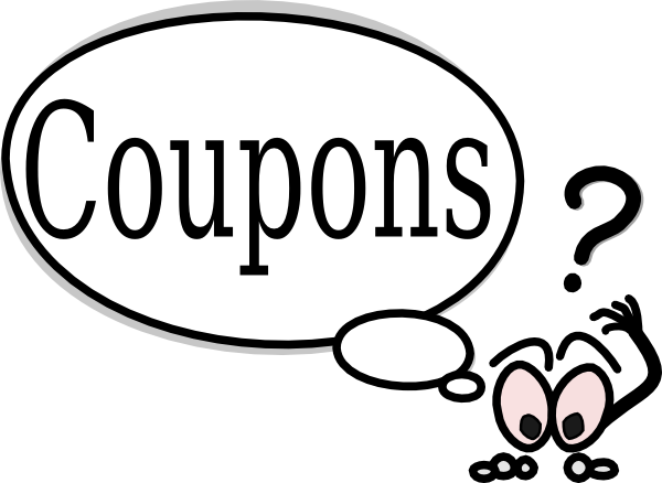 Clip coupon couponing. Free clipart download art