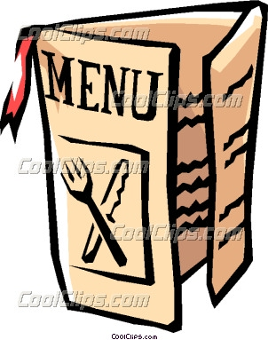 Menu clipart restaraunt. Free to use and