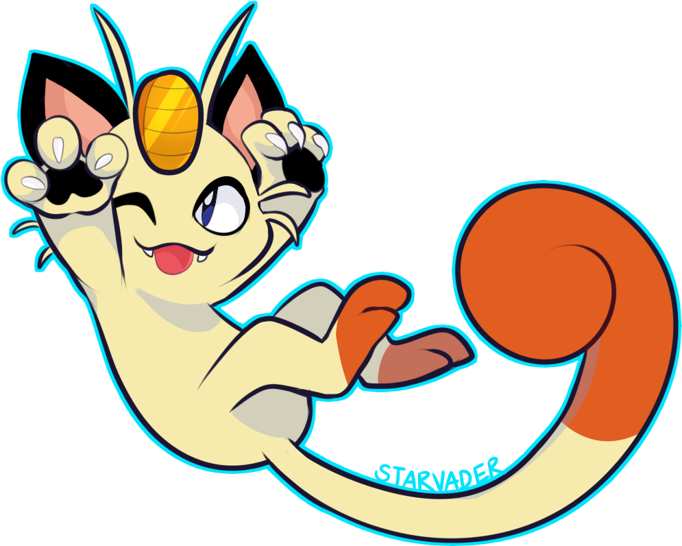 Meowth transparent. Download hd thats right