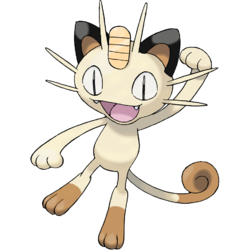 Meowth transparent 8 bit. That s right for