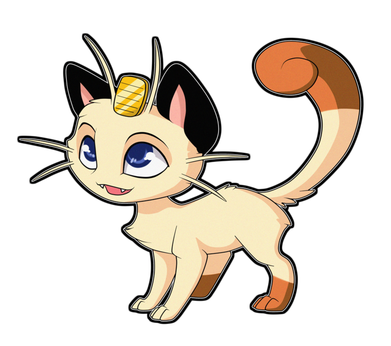 By sugarcup on . Meowth transparent deviantart vector freeuse download