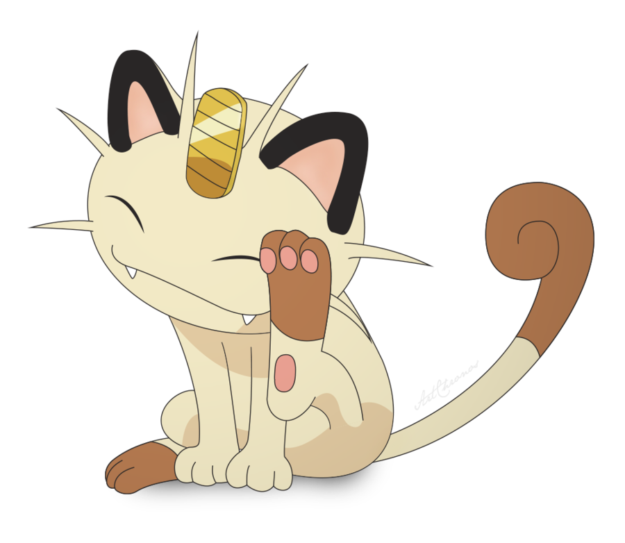 By artchronos on . Meowth transparent deviantart clipart free download