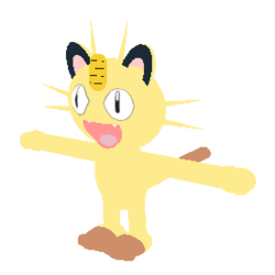 Meowth transparent normal. Pokemon fighters ex wikia