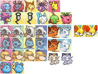 Meowth transparent pokemon mystery dungeon. Sprite tumblr miscellaneous portraits