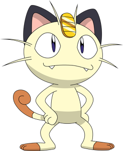 Meowth transparent. Shiny pok dex stats