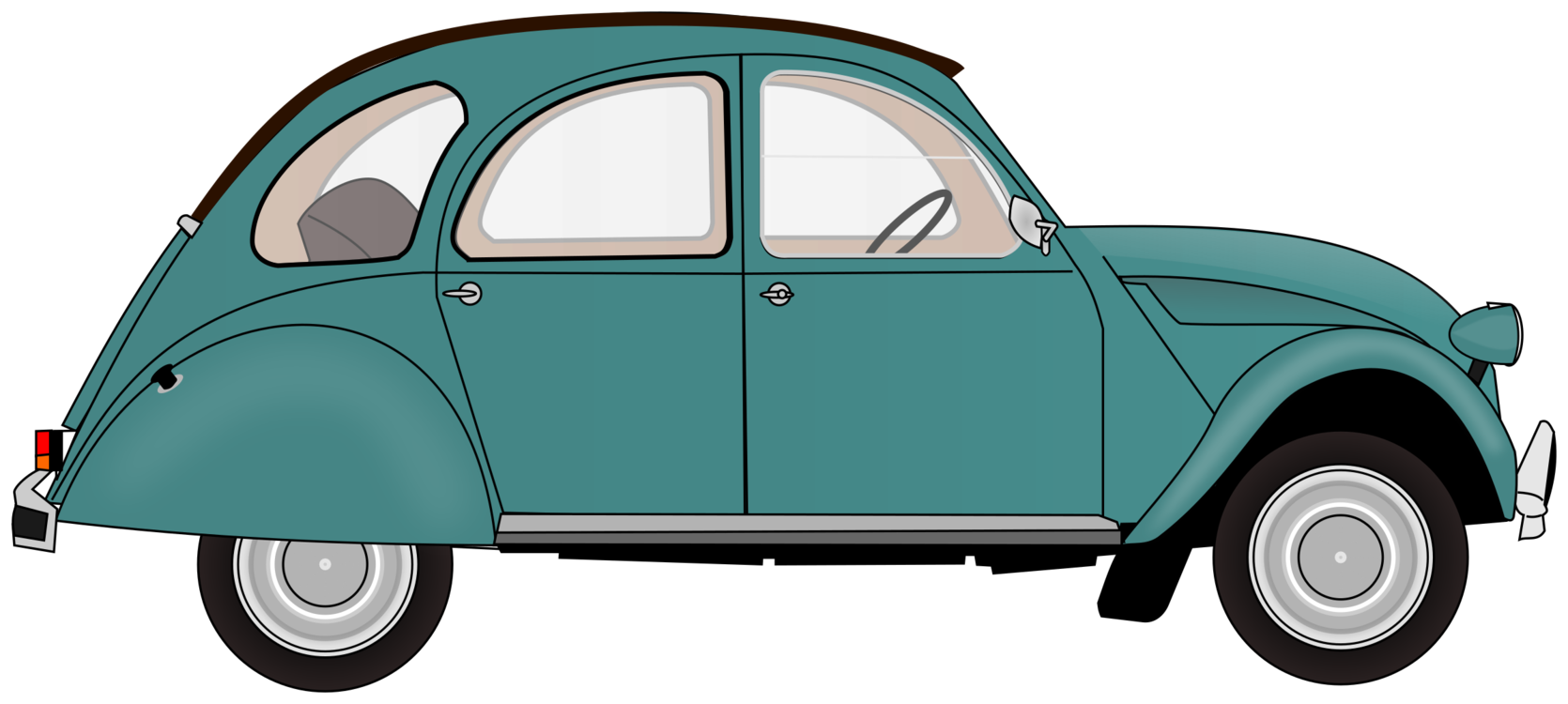 Mercedes drawing antique car. Classic volkswagen beetle free