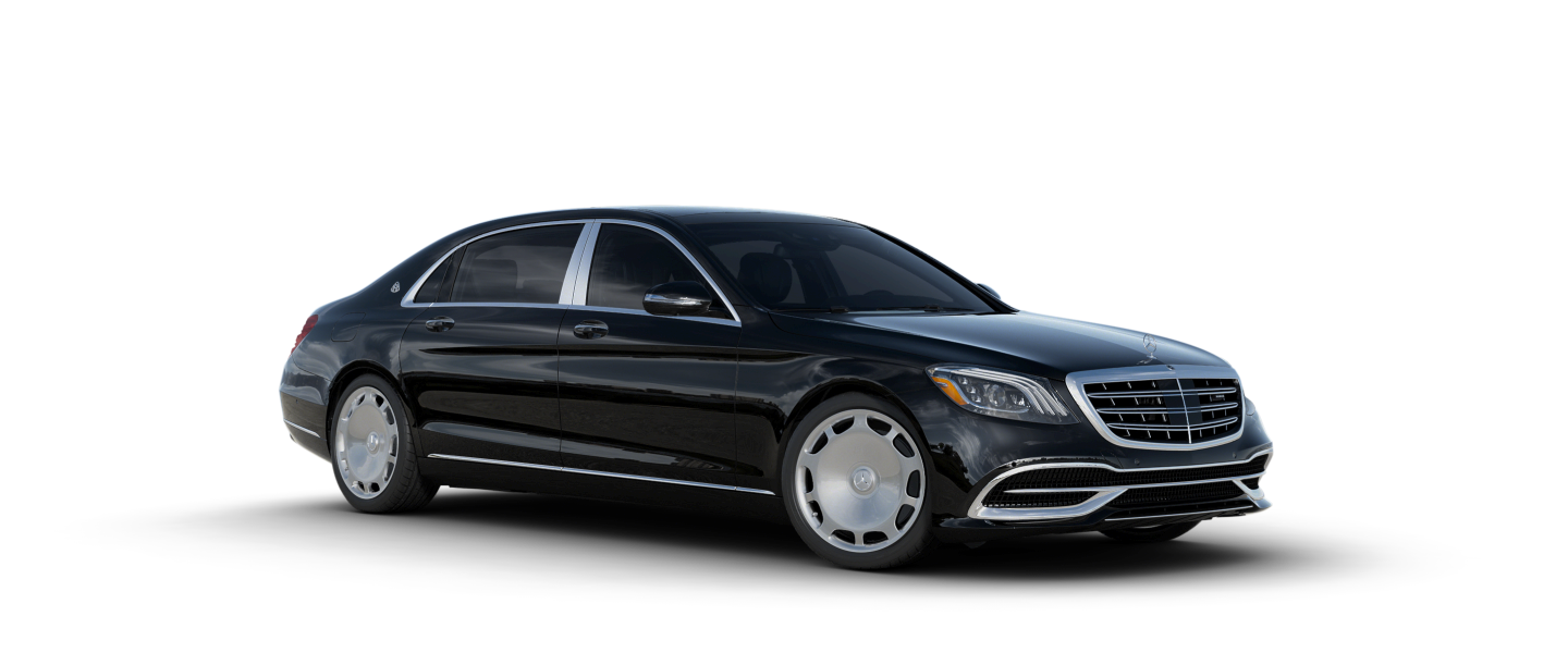Mercedes drawing realistic. Maybach s sedan