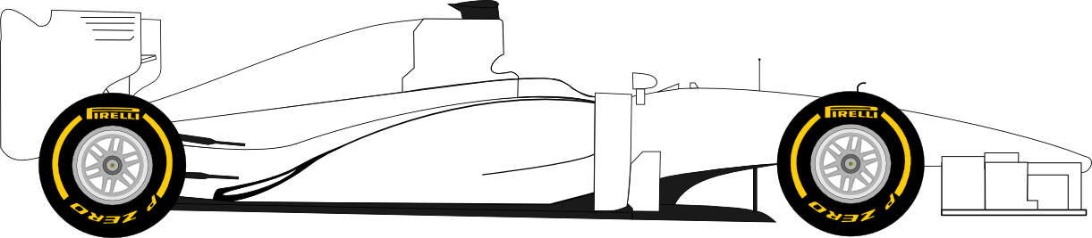 Mercedes drawing template. Images of car