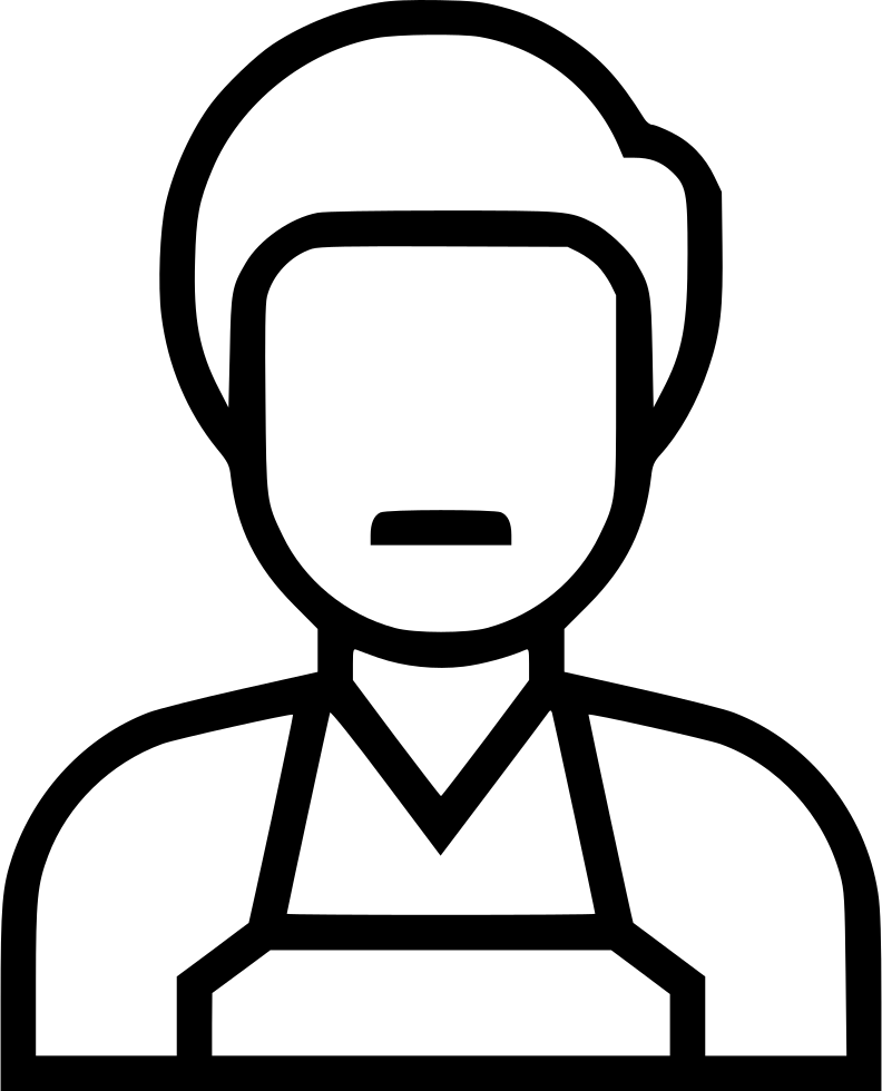 Merchant drawing line. Svg png icon free