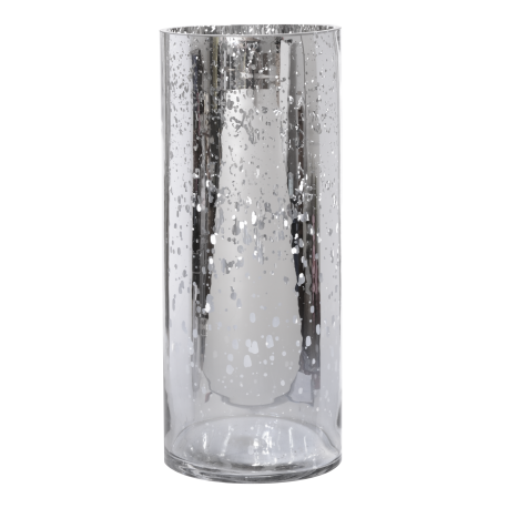 Mercury glass candles png. X cylinder vase