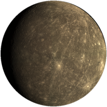 Mercury planet png. The is closest world
