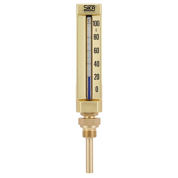 Mercury thermometer png. Industrial type b with