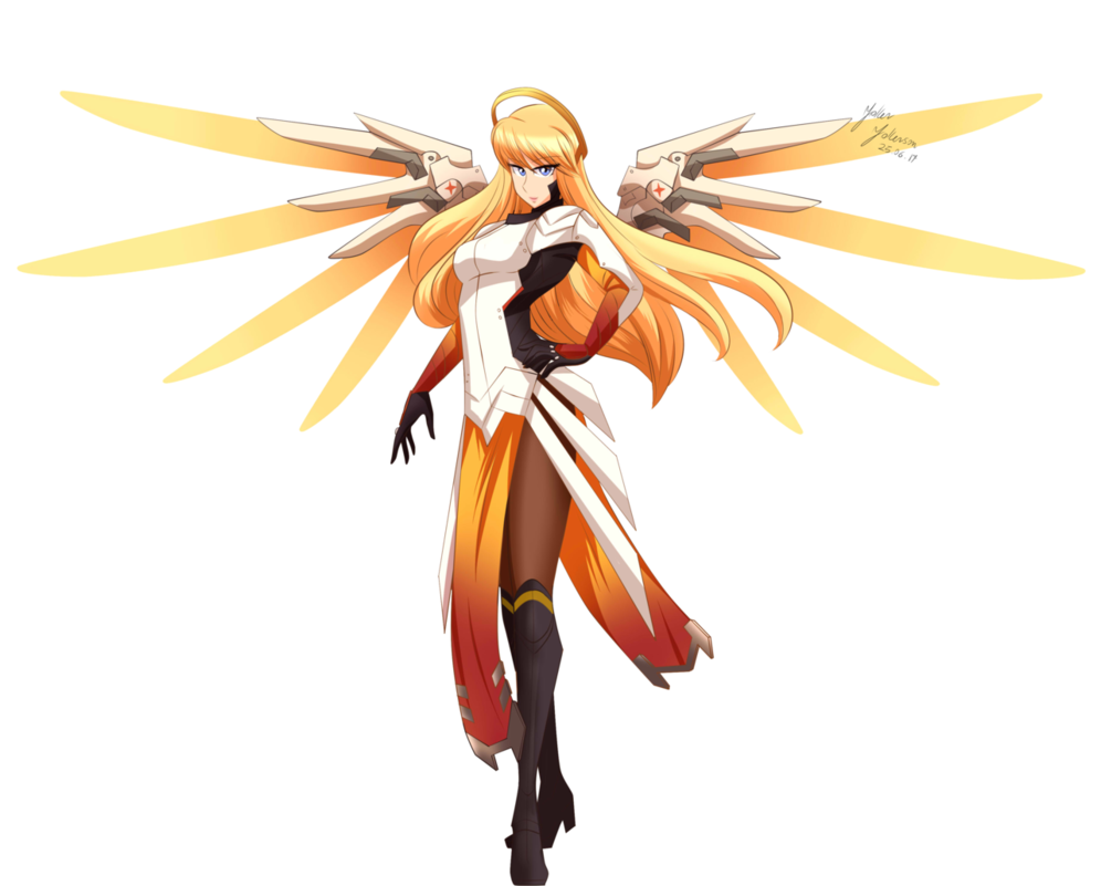 Mercy overwatch png. Namika by jokerjokerson on