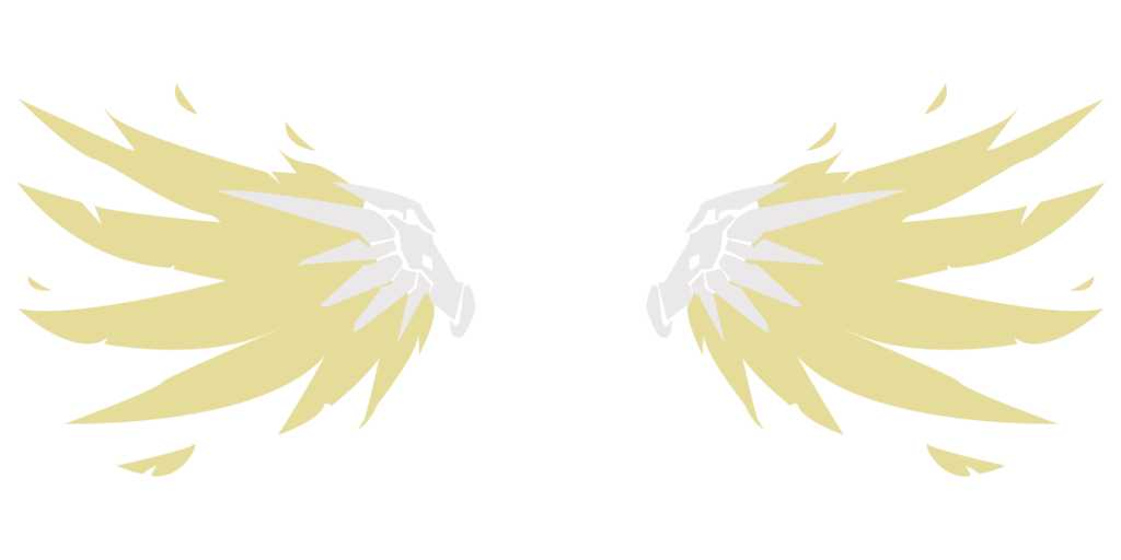 Vector spray mercy. Wings by syliandra on