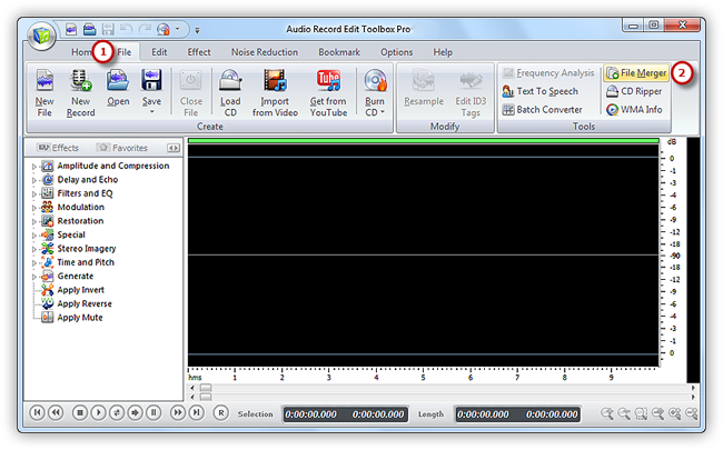 Merge 2 png files. How to join audio