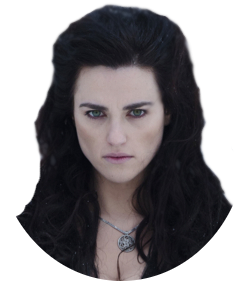 Merlin drawing morgana