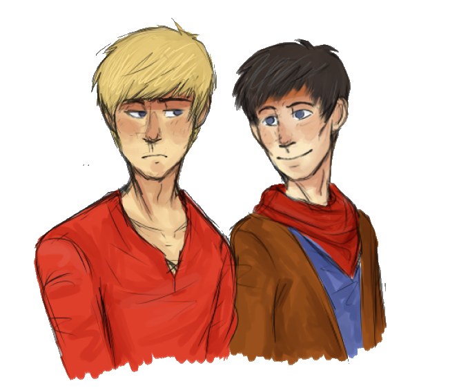 Merlin drawing sketches. And arthur by thatsjuststupidchris