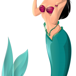 Mermaid clipart realistic. Tail png transparent professional