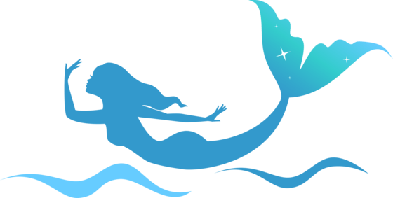 Mermaid clipart silhouette. Download free png dlpng