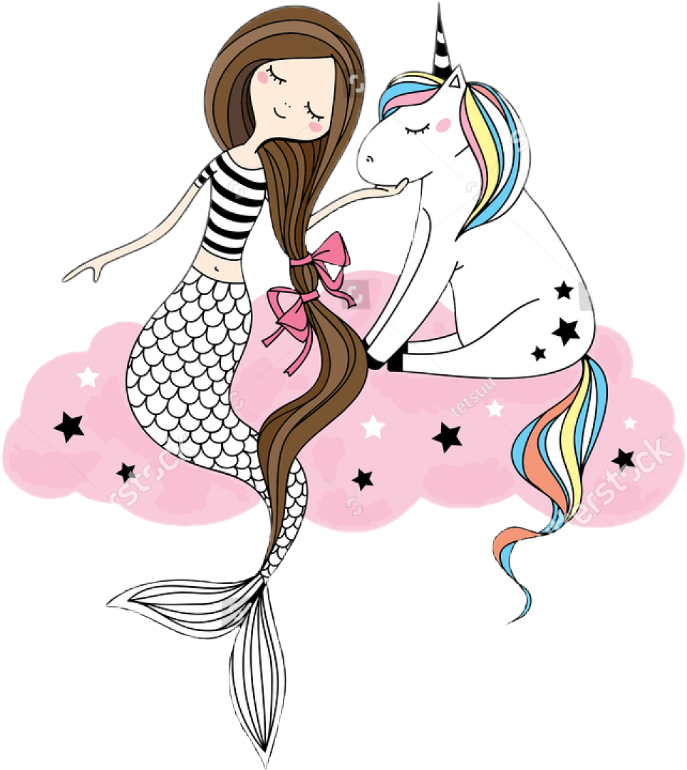 Nicorn clipart mermaid. Image result for unicorn