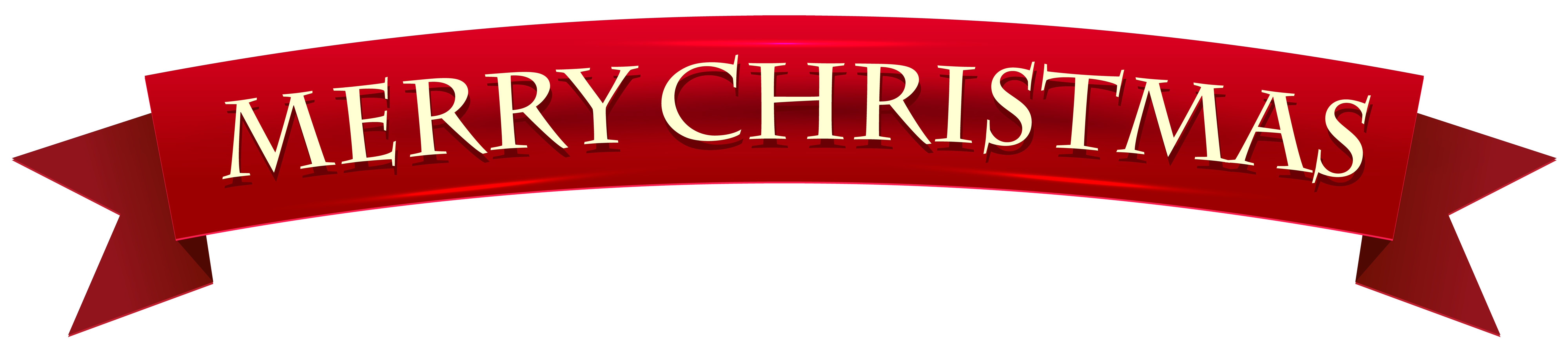 Merry christmas banner png. Transparent clip art image