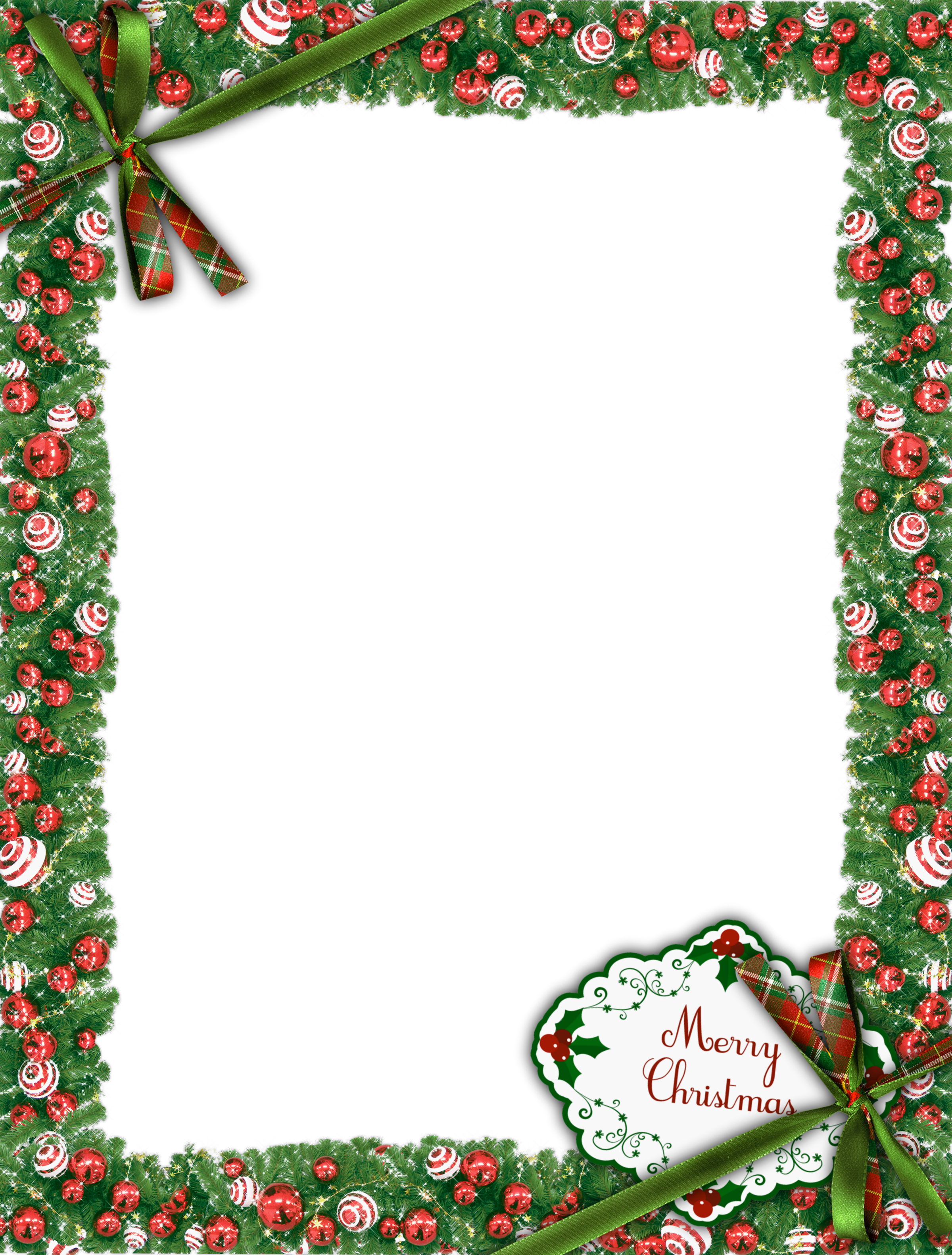 Merry christmas frames and borders png. Green photo frame gallery