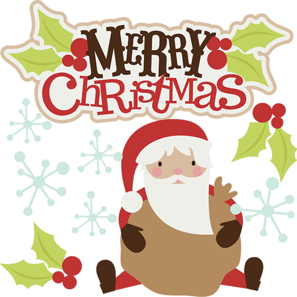 Merry Christmas Fancy Transparent & PNG