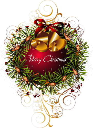 Merry christmas clipart vintage. Photo from album on