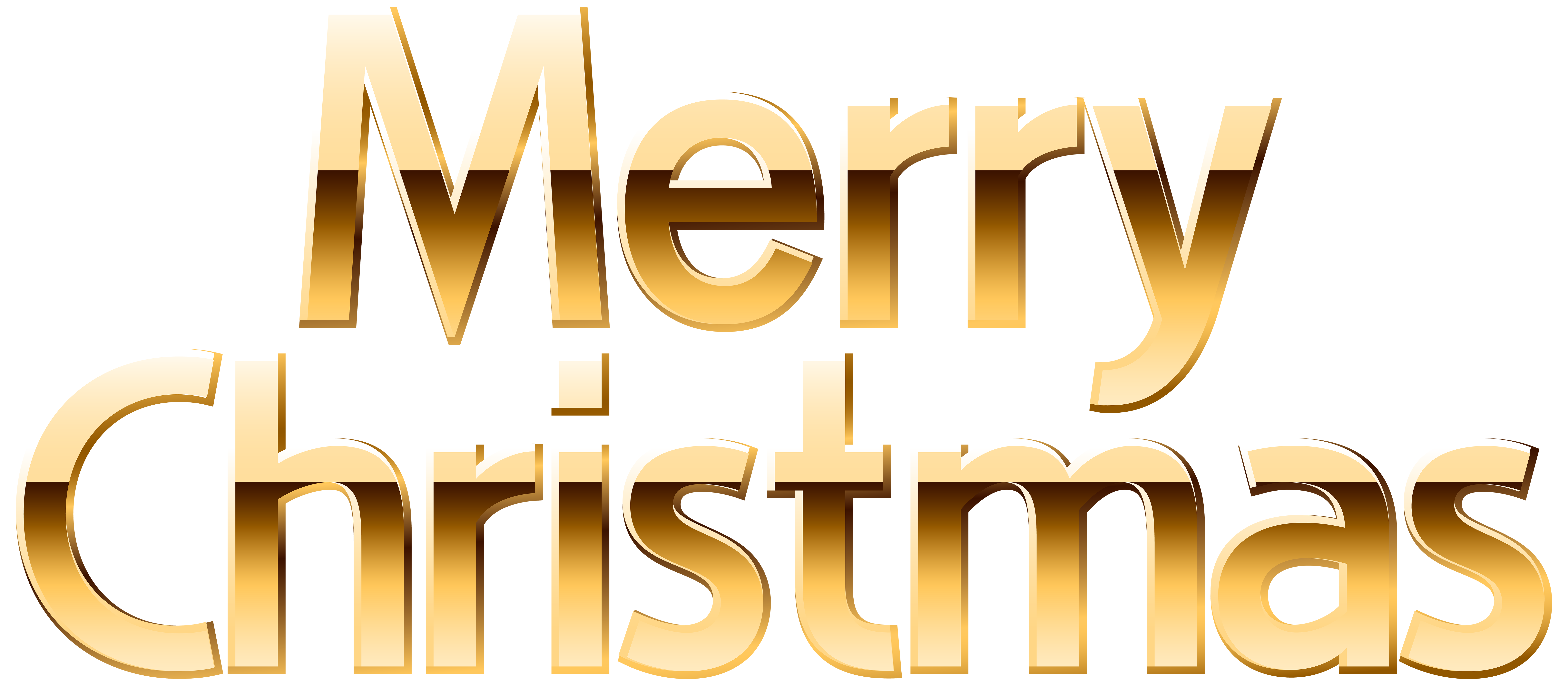 Merry christmas gold png. Clip art image gallery