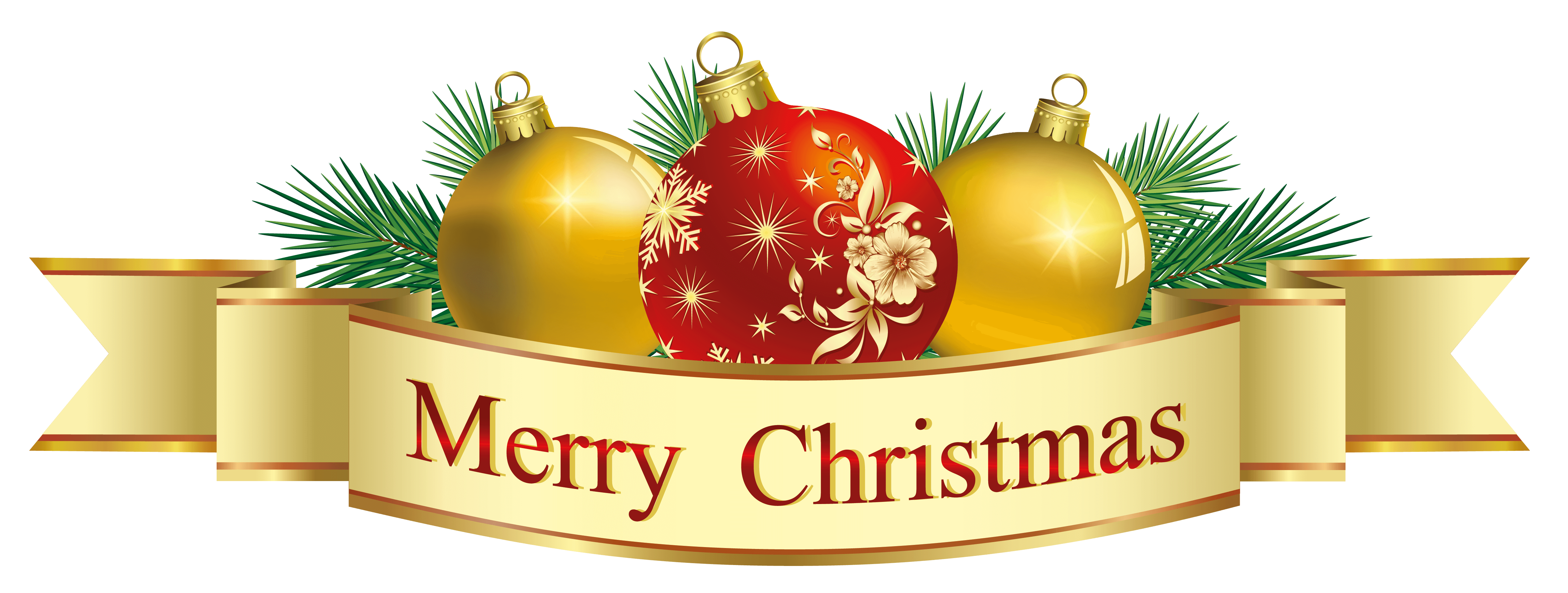 Merry christmas logo png. And happy new year