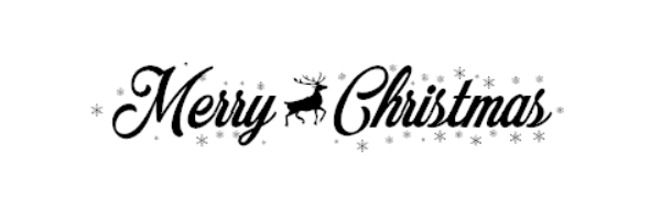 Merry christmas png different font. Image