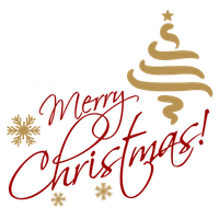 Merry christmas png gold format. Download text free photo