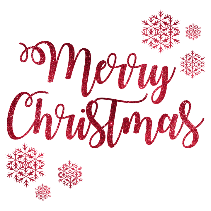 Merry christmas png pink. Snow flakes transparent stickpng