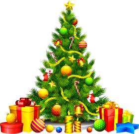 Merry christmas png tree. Psd vector design with