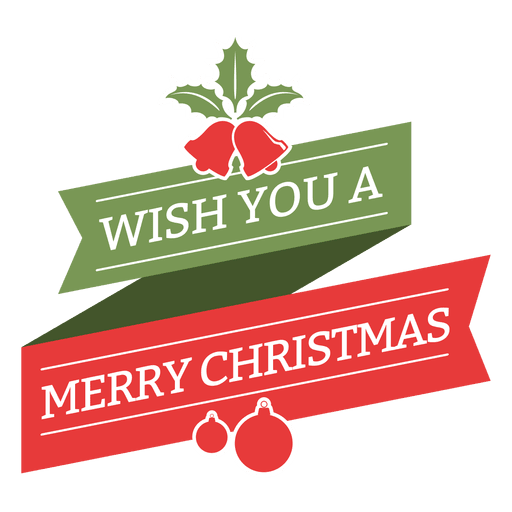 Labels vector christmas. Merry wish vintage badge