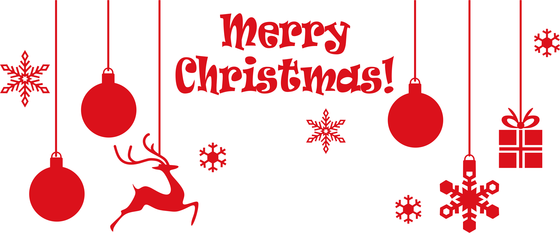 Merry christmas .png. Ornamental typography icons png