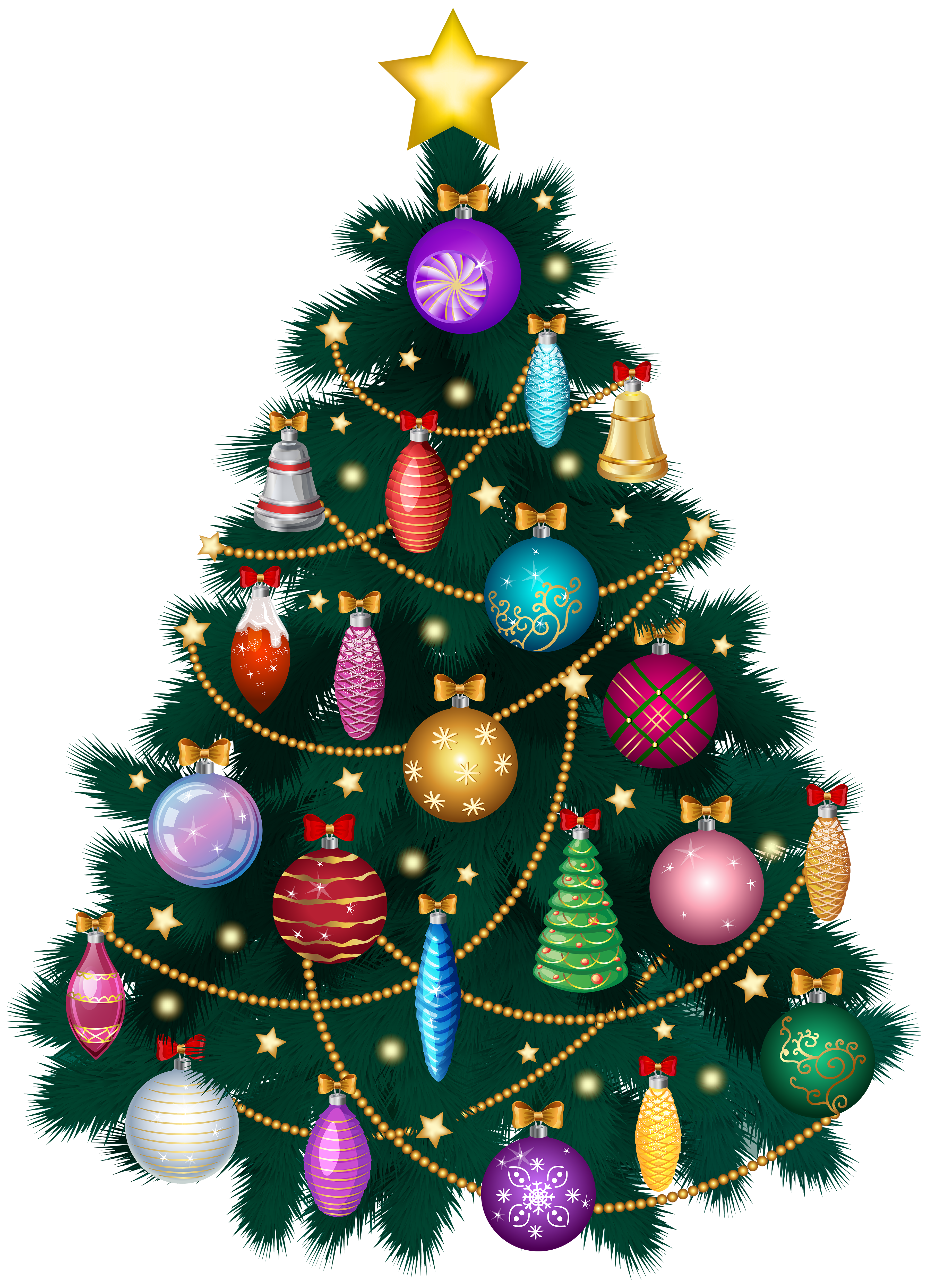 Merry clipart christmas tree ornament. Deco png clip art