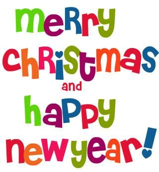 Merry clipart happy. Christmas for facebook and