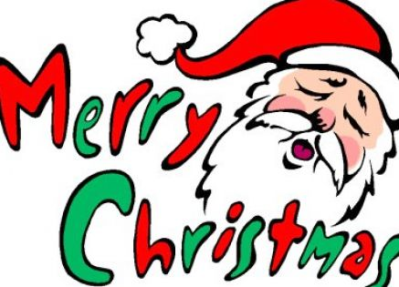 Merry clipart happy. Free christmas clip art