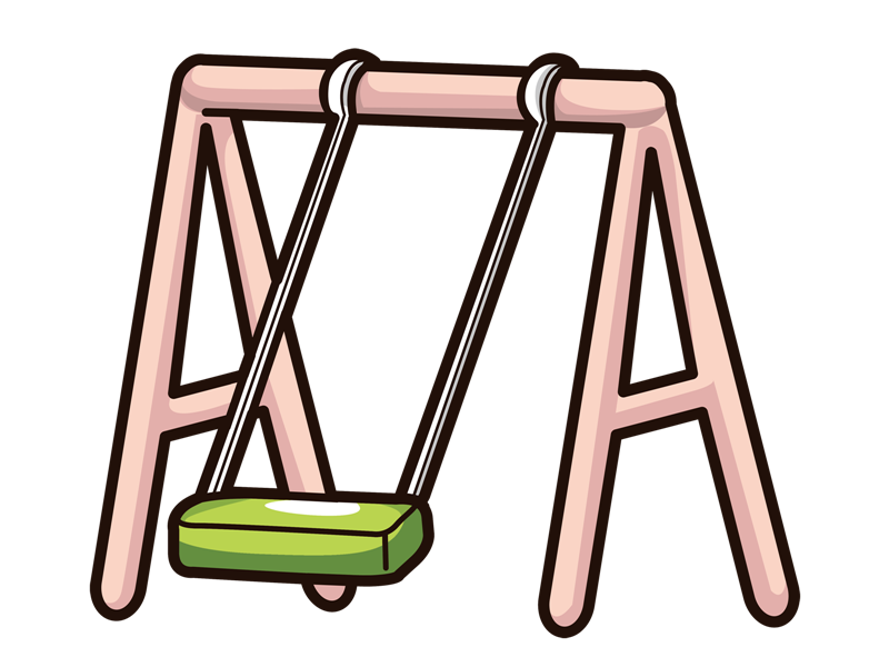 Swing clipart school playground. Free cliparts download clip