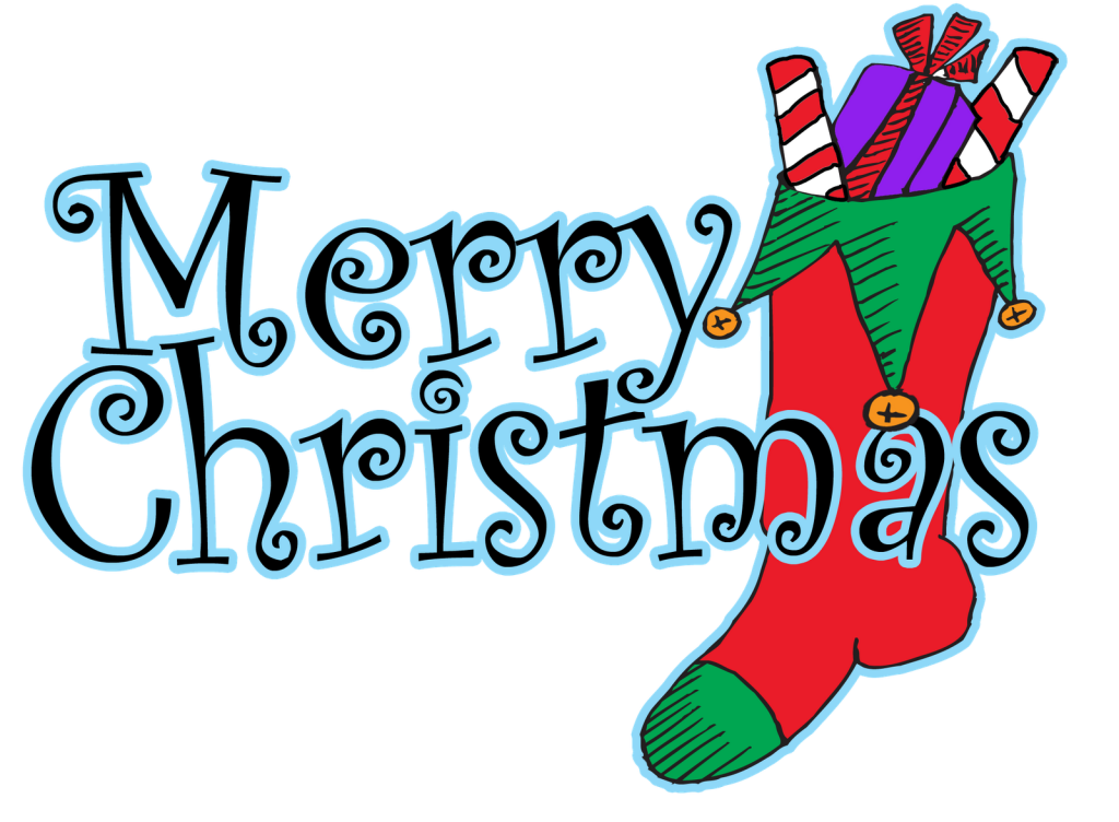 Words clipart fashion. Free merry christmas download
