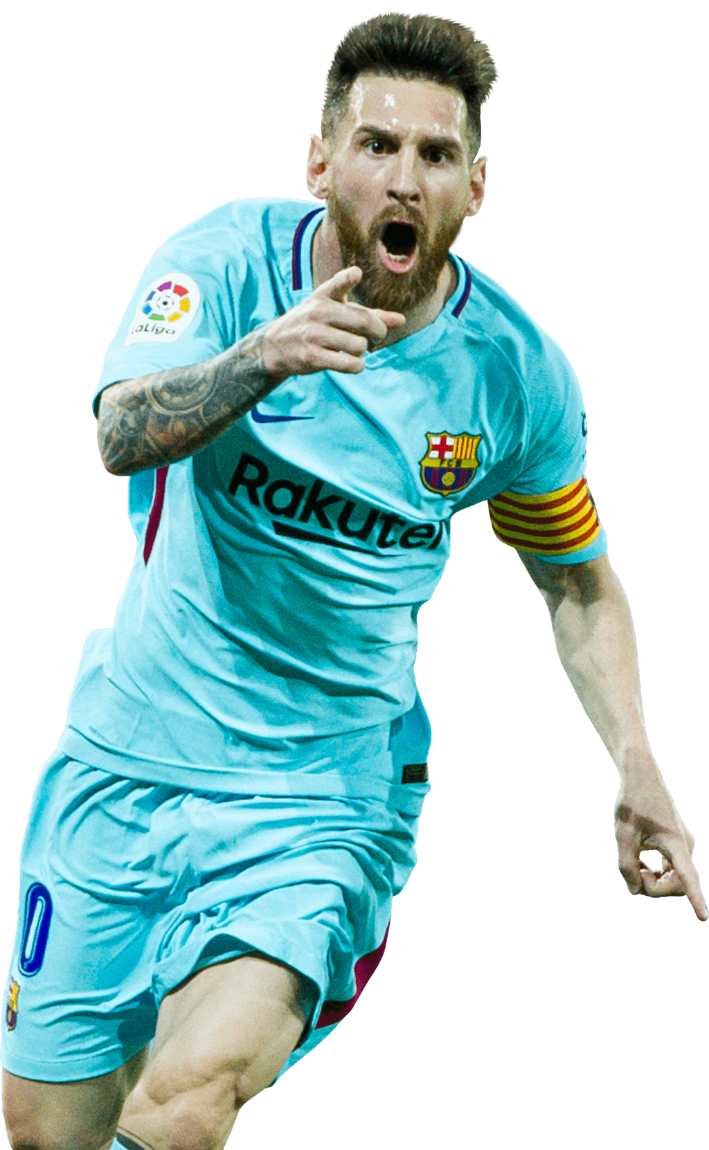Messi 2018 png. Lionel fcb rakuten by