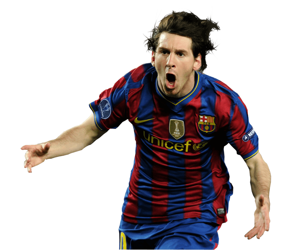 Lionel angry transparent stickpng. Messi png vector transparent