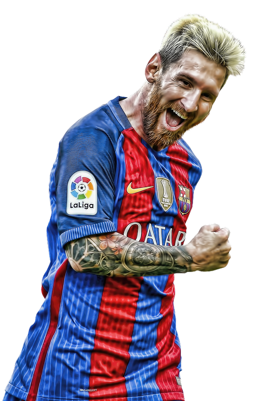 Messi png. Lionel happy smile fc