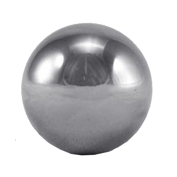 Metal ball png. Solid stainless steel