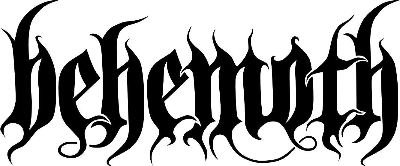 Metal band png. File behemothlogo wikimedia commons