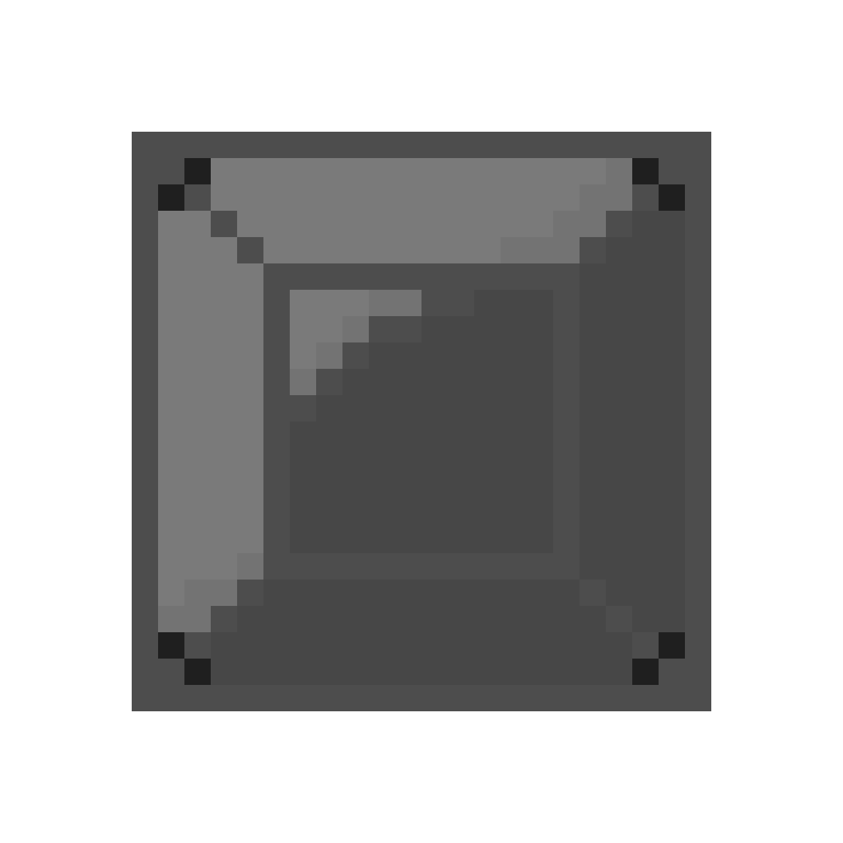 Metal crate png. Pixilart by ladlelord