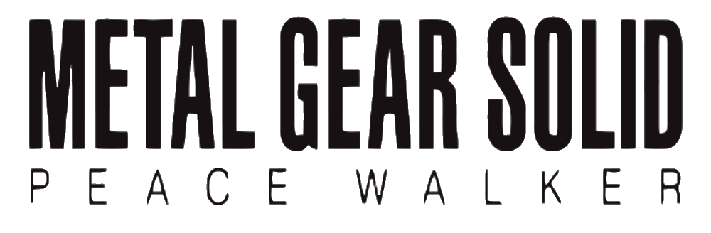 Metal gear solid 3 logo png. Peace walker wikipedia