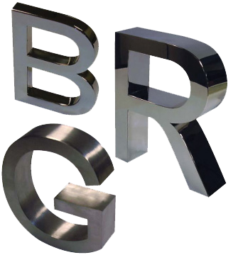 metal letters png