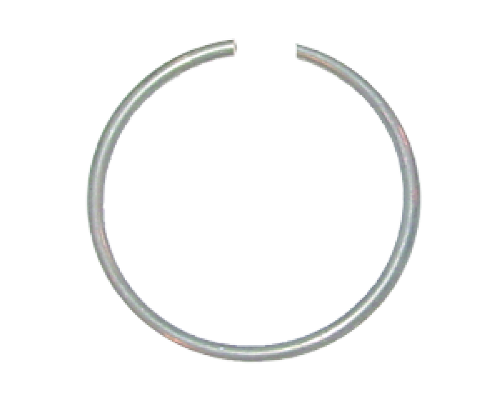 Metal ring png. Steel snap for c